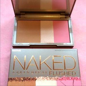 URBAN DECAY Naked Flushed Palette NATIVE